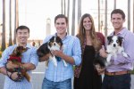 NomNomNow Founders: Wenzhe, Nate, Alex, and Zach