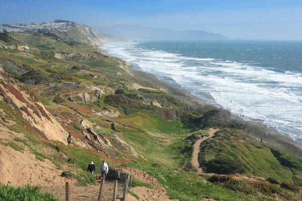 Best Dog Parks in San Francisco: Fort Funston l NomNomNow Blog